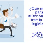 ¿Qué medidas para los autónomos nos trae la nueva legislatura?