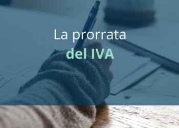 ¿Cómo funciona la regla de prorrata del IVA si tenemos actividades exentas y no exentas?